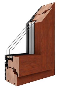 Okna Drutex drewniano-aluminiowe Duoline 68, 78, 88 | Agart.net.pl