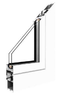 Profil okna MB45 Drutex