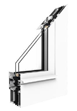 Profil okna MB70HI Drutex